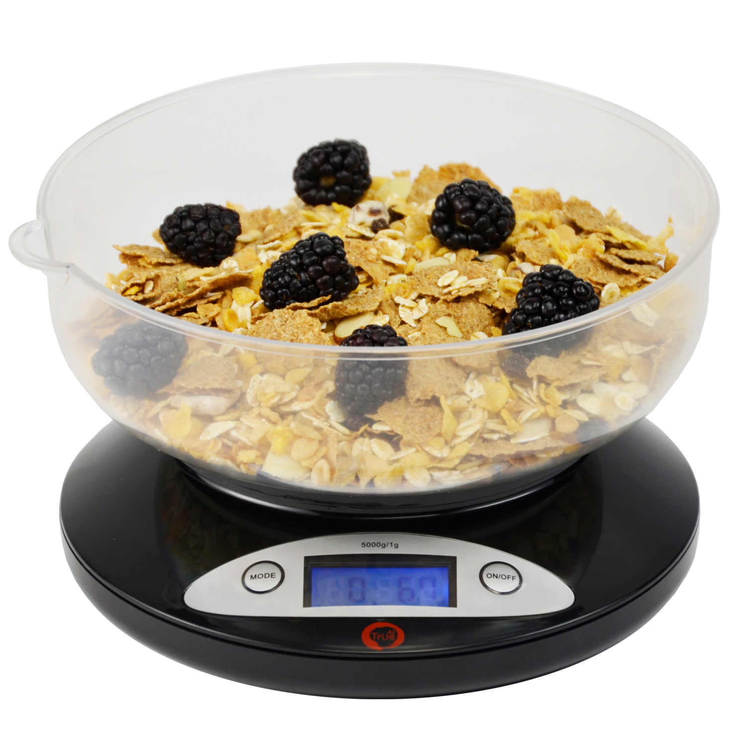 Kitchen scale - Ultimate 5k digital kitchen food scale and multifunction  weight scale with removable bowl grams and ounces , 5000g 1.0g